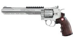 "Airsoft Revolver Ruger SuperHawk 8"" nikl AGCO2"