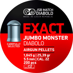 Diabolo JSB Exact Jumbo Monster 200szt. kal.5,52mm