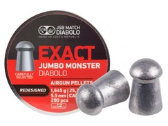 Diabolo JSB Exact Jumbo Monster Redesigned 200szt. kal.5,52mm