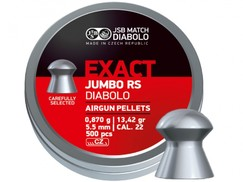Śrut JSB Exact Jumbo RS 500ks kal.5,52mm