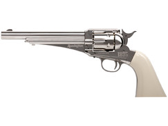 Wiatrówka rewolwer Crosman Remington 1875 silver