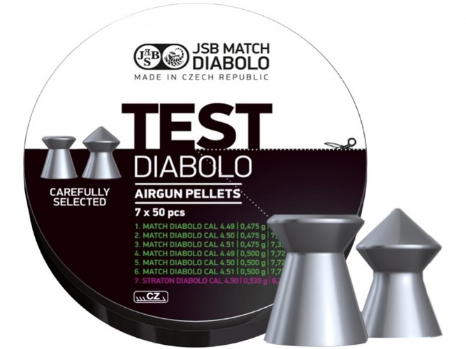 Diabolo JSB Match TEST do pistoletu .177