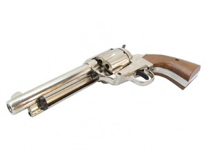 Rewolwer gazowy Bruni Single Action Peacemaker chrom kal.9mm