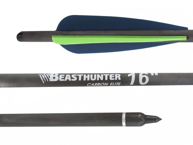 "Bełt carbon 16"" Beast Hunter Elite HalfMoon 1szt."