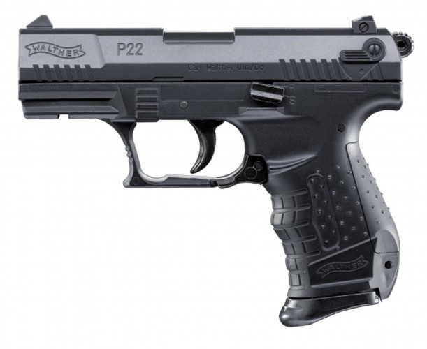 Airsoft Pistolet Walther P22 czarny ASG