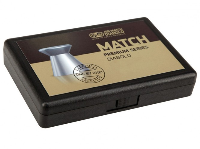 Śrut JSB Premium Match Light 200 sztuk kal. 4,51 mm