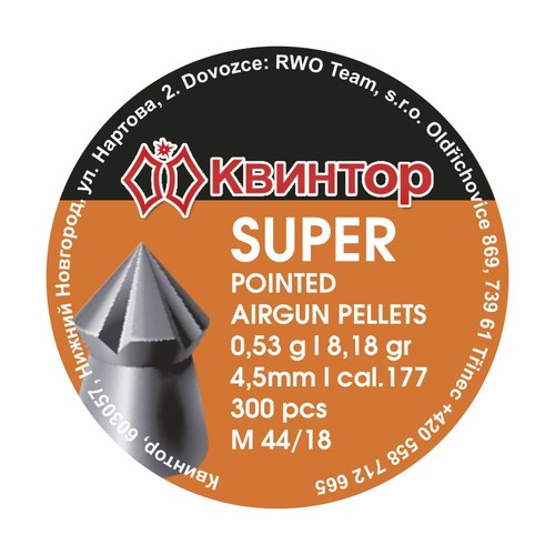 Śrut Diabolo Kvintor Super Pointed kal.4,5mm 300szt.