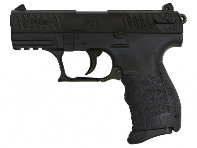 Airsoft Pistolet Walther P22Q czarny Metal Slide ASG